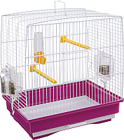 Клетка для птиц Ferplast Rekord 1 / 52006170W2 (фиолетовый) -