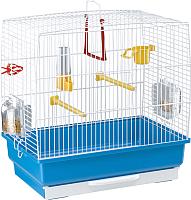 Клетка для птиц Ferplast Rekord 2 / 52007811W1 (голубой) -