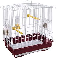 Клетка для птиц Ferplast Giusy / 52008514W2 (красный) -