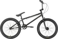 Велосипед STARK Madness BMX 1 2021 (черный/серебристый) -
