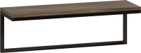 Полка Loftyhome Бервин Флэт / br030603 (серый) -