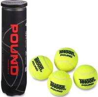 Набор теннисных мячей Teloon Pount-Tour 828Т Р4 (4шт, желтый) -