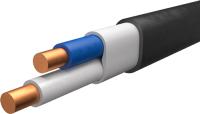 Кабель силовой Ecocable ВВГ-Пнг(А)-LS 2x1.5 ок (N / PE) - 0.66 (50м) -