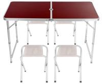 Комплект складной мебели Sabriasport 901004 (коричневый) -