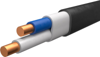 Кабель силовой Ecocable ВВГ-Пнг(А)-LS 2x1.5 ок (N / PE) - 0.66 (5м) -