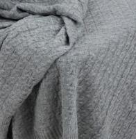 Плед Polesie 7С1495-Д43 210x170 (серый меланж) -