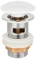 Донный клапан Invena SC-B1-BZP-W (Click-Clack) -