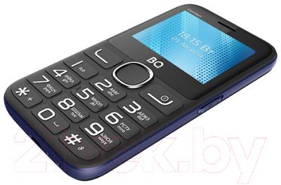 Мобильный телефон BQ Comfort BQ-2301 (черный/синий)