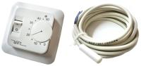 Терморегулятор для теплого пола Wirt ТРЛ-02 (с механическим управлением) -