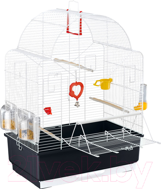 Купить Клетка для птиц Ferplast, Ibiza Open / 52021811W1, Италия, белый