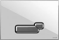 Кнопка для инсталляции Cersanit Actis P-BU-ACT/Whg/Gl (стекло/глянцевый белый) -