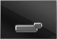 Кнопка для инсталляции Cersanit Actis P-BU-ACT/Blg/Gl (стекло/глянцевый черный) -