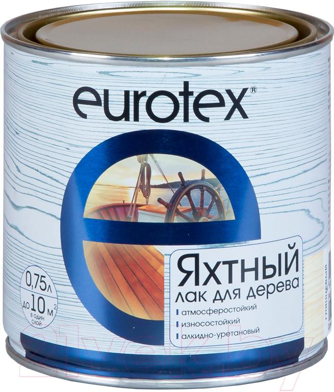 Купить Лак яхтный Eurotex, Полуматовый (750мл), Россия, бесцветный