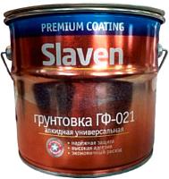 Грунтовка Slaven ГФ-021 (3.2кг, красно-коричневый) -
