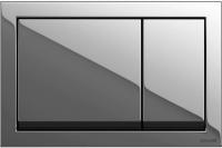 Кнопка для инсталляции Cersanit Enter P-BU-ENT/Cg (хром блестящий) -