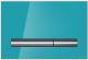 Кнопка для инсталляции Cersanit Pilot P-BU-PIL/Azg/Gl (стекло/лазурный глянцевый) -