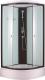 Душевая кабина Niagara NG-6703-14 80x80x215 (прозрачное стекло/черный) -