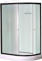 Душевая кабина Niagara NG-6711-14 R 120x80x215 (прозрачное стекло/черный) -