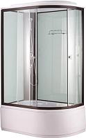 Душевая кабина Niagara NG-6710-14 L 120x80x215 (прозрачное стекло/черный) -