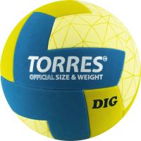 Мяч волейбольный Torres Dig / V22145 (размер 5) -