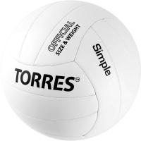 Мяч волейбольный Torres Simple / V32105 (размер 5) -