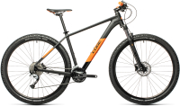 Велосипед Cube Aim SL 27.5 2021 (16, Black/Orange) -