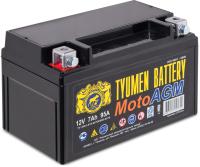 Мотоаккумулятор Tyumen Battery YTX7 (7 А/ч) -
