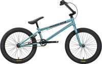 Велосипед STARK Madness BMX 4 2021 (голубой/черный) -