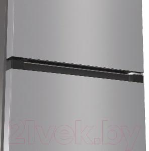 Холодильник с морозильником Gorenje NRK6201ES4