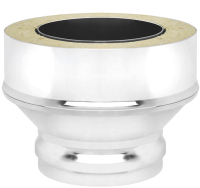 Переходник для дымохода Везувий 0.8мм д. 115х200 (ММ) -