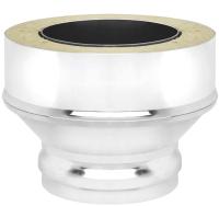 Переходник для дымохода Везувий 0.8мм д. 150х220 (ММ) -