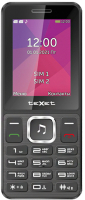 Мобильный телефон Texet TM-301 (черный) -