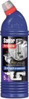 Средство для устранения засоров Sanfor Для ванной (750мл) -