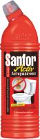 Чистящее средство для унитаза Sanfor Activ антиржавчина (750г) -
