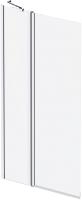Стеклянная шторка для ванны AM.PM Gem W90BS-D3W5-140CT -