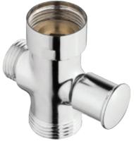 Переключатель потоков воды Invena SC-B1-054-G (с подключением шланга) -