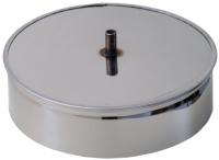 Стакан для дымохода Везувий 0.5мм д.150 (с конденсатоотводом) -