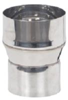 Переходник для дымохода Везувий 0.8мм д.115х120 L-100 -