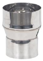 Переходник для дымохода Везувий 0.8мм д.120х115 L-100 -