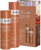 Набор косметики для волос Estel Otium Color Life для окрашенных волос Шампунь+Бальзам (250мл+200мл) -