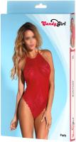 Костюм эротический Candy Girl Paris One Size / 840060 (красный) -