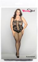 Костюм эротический Candy Girl Kasandrah / 843027-BLK-2XL (черный) -