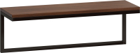 Полка Loftyhome Бервин Флэт / br030601 (коричневый) -