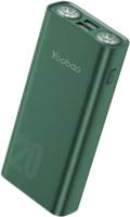 Портативное зарядное устройство Yoobao Power Bank LED L20 (зеленый) -