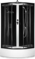 Душевая кабина Saniteco 99836-A (100x100, черный) -