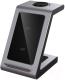 Зарядное устройство беспроводное Prestigio ReVolt A8 3-в-1 / PCS108A-SG -