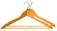 Набор вешалок-плечиков Чистая классика NVS-228 (2шт, 44.5х23х1.2 см) -