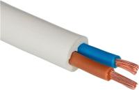 Провод силовой Ecocable ПВС 2x4 (20м, белый) -