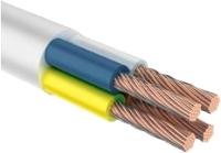 Провод силовой Ecocable ПВС 4x2.5 (50м, белый) -