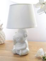 Прикроватная лампа Лючия Манки Хил 236 (белый) -